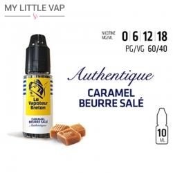 E-liquide - Caramel Beurre Salé - Le Vapoteur Breton