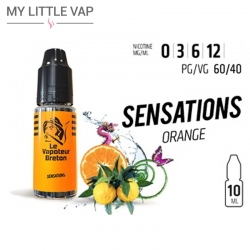 E-liquide - Sensation Orange - Le Vapoteur Breton