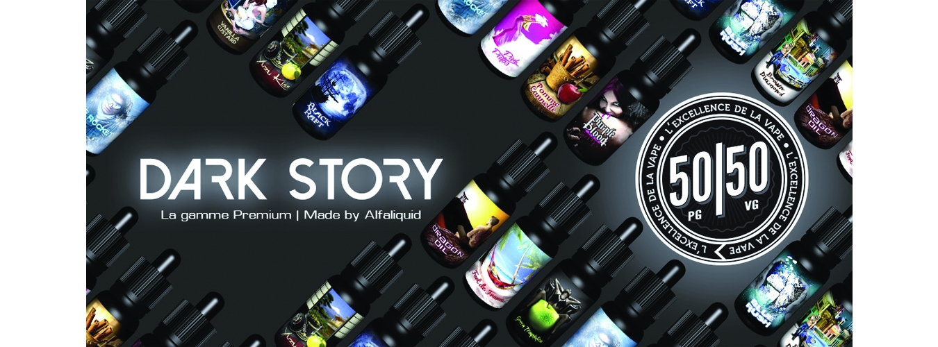 E-liquide Dark Story by Alfaliquid